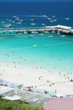 4个海岛ko lan pattaya 库存照片