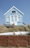 4个海滩小屋 库存图片