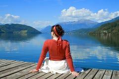 4个湖rossa 免版税库存照片