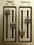 4个甲板老磁带 免版税图库摄影
