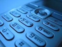 4个电池填充电话 免版税库存照片