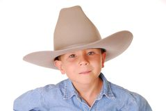 4个男孩牛仔 免版税图库摄影