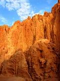 4个红色岩石 图库摄影