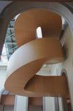 4个艺术galler gehry安大略楼梯 库存图片