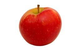 4个苹果红色 库存图片
