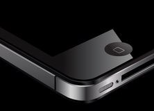 4个苹果iphone 免版税库存图片