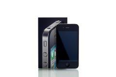 4个苹果iphone 免版税库存照片