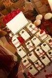 4个蛋糕婚礼 免版税库存图片