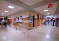 4个走廊学校 图库摄影