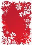 4个边界圣诞节 免版税图库摄影