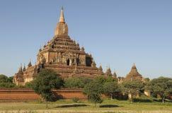 4个bagan寺庙 库存照片