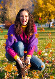 4五颜六色的秋天 免版税库存图片