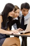 4企业小组 免版税库存照片