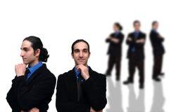 4企业小组 免版税图库摄影