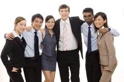 4企业确信的小组 免版税库存照片