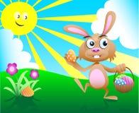 4兔宝宝复活节 库存照片