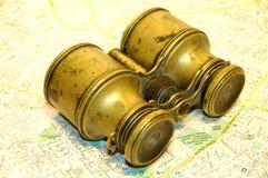 4副双筒望远镜 库存照片