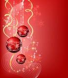 4副横幅圣诞节 库存照片