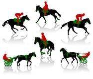 4匹马 免版税库存照片