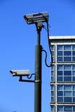 4台照相机证券 免版税库存照片