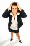 4名企业性感的妇女 免版税库存照片