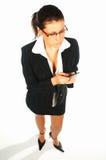 4名企业性感的妇女 库存照片