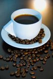 4咖啡 免版税库存照片