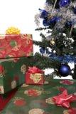 4圣诞树 图库摄影
