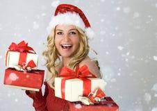 4圣诞老人 免版税图库摄影