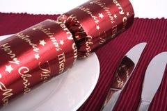 4圣诞节午餐 免版税库存照片
