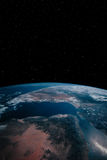 4地球 免版税库存图片