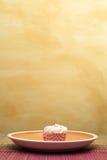4块杯形蛋糕 免版税库存照片