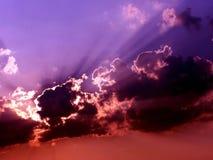 4多暴风雨的天气 图库摄影