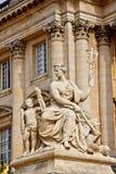 4大理石宫殿雕塑凡尔赛 免版税库存照片