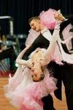 4对比拉罗斯夫妇跳舞传神行军米斯克 免版税库存图片