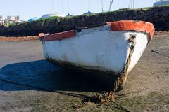 4小船 库存照片