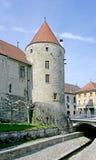 4座城堡塔 库存图片