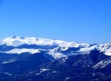 4座山雪 库存图片