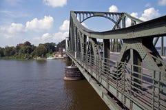 4座桥梁glienicke 库存照片