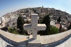4我的耶路撒冷 库存照片