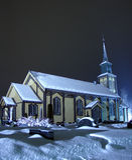 4教会h nefoss 库存图片