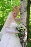4新娘 免版税库存照片