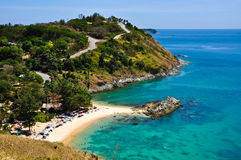 4月2010日海滩韩nai普吉岛泰国 免版税图库摄影