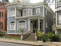 4有历史的房子 库存图片