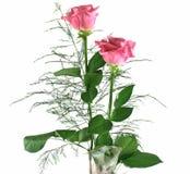 4朵礼品玫瑰 免版税库存图片