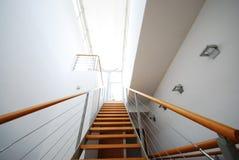 4楼梯 免版税库存照片
