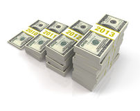 4次投资年 免版税库存图片