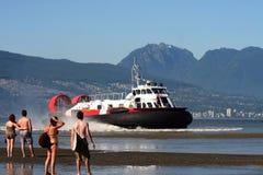4气垫船 免版税图库摄影