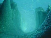 4水下的冰山 免版税库存照片