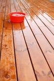 4湿的大阳台 图库摄影